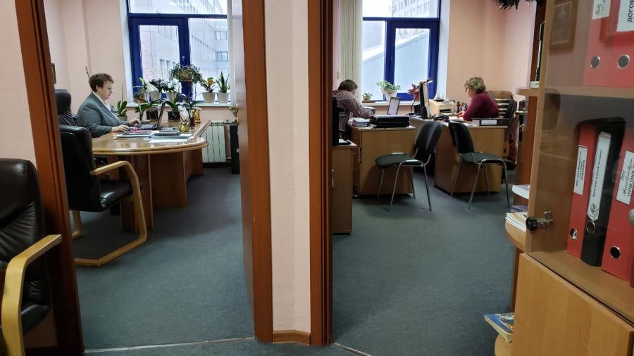 Работа в офисе аудиторской компании