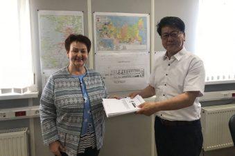 Директор ООО «Радар- Консалтинг» Наталья Шибалкина и Директор ООО «Гефест СП» Чонг Сон.